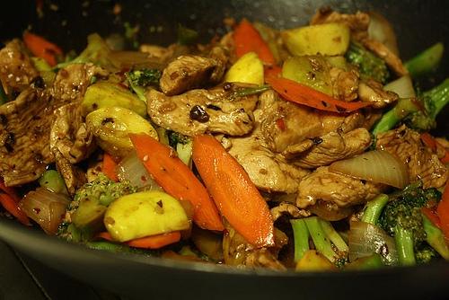 Garlic Chicken Zucchini Stir-fry | Gluten Free Recipes Wiki | Fandom ...