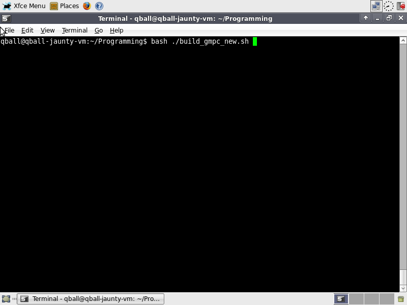 Gmpc-dev-install-guidestep 5