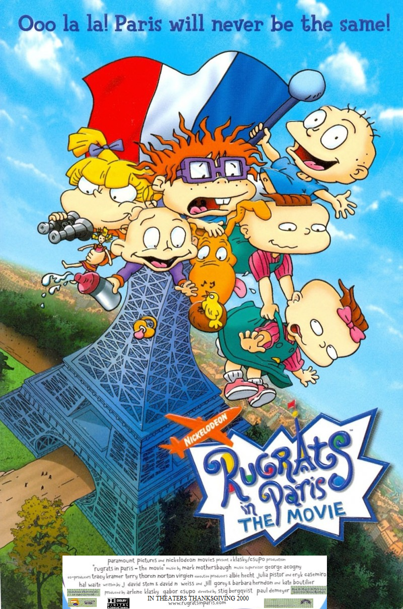 Rugrats In Paris The Movie Go Animate The Movie Wiki