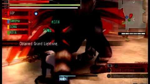 Gods Eater Burst Vajra Battle Gameplay Trailer