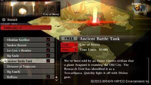 R6 Ancient Battle Tank