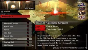R3 Crocodile Swagger