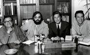 Puzo, Coppola, Evans, Ruddy