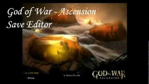 video ps3 god of war ascension save editor hacking