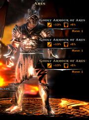 Godly Armor of Ares