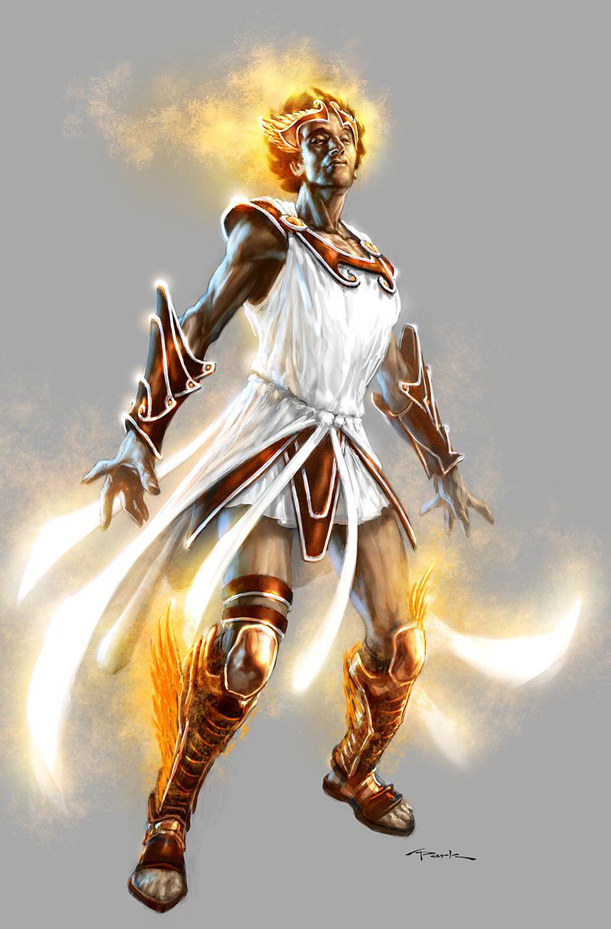 Hermes god of war wiki fandom powered by wikia for God of war 3 jardines del olimpo