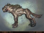 God of war canine by nichtelf-d41hjq5