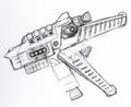Concept Art - Godzilla Tokyo SOS - Kiryu Rocket Launcher 1
