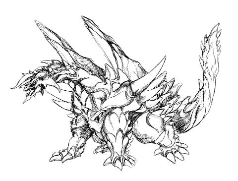 File:Concept Art - Rebirth of Mothra - Desghidorah 7.png