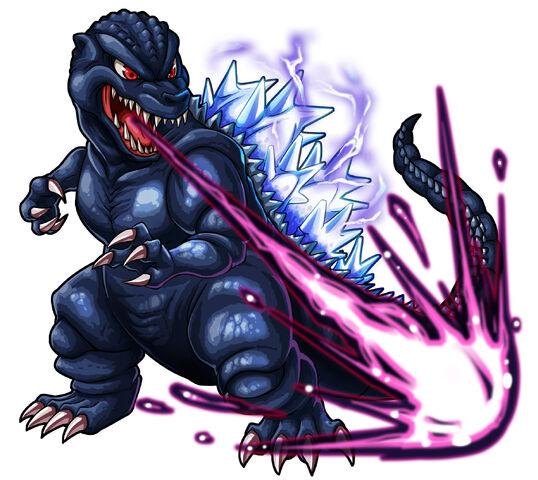 File:Godzilla X Monster Strike - Godzilla Heisei.jpg