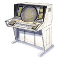 Concept Art - Godzilla Final Wars - EDF Console