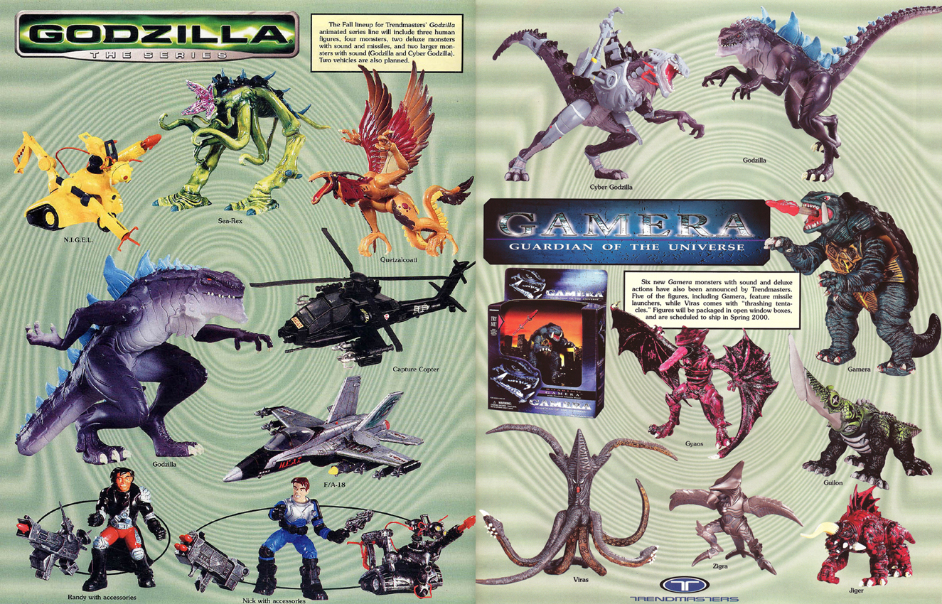Godzilla The Series Toys 55