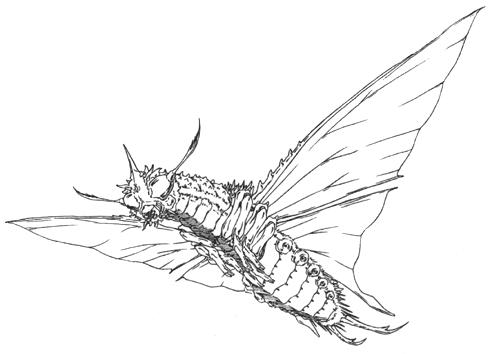 File:Concept Art - Godzilla vs. Mothra - Battra Imago 3.png