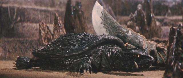 File:Gamera - 5 - vs Guiron - 23 - Chopping Turtles.png