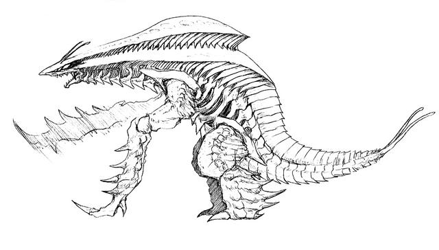 File:Concept Art - Godzilla 2000 Millennium - Orga 52.png