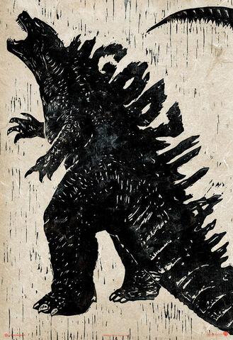 File:Godzilla 2014 A Monster No A God Poster.jpg