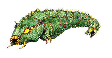 File:Concept Art - Godzilla vs. Mothra - Battra Larva 8.png
