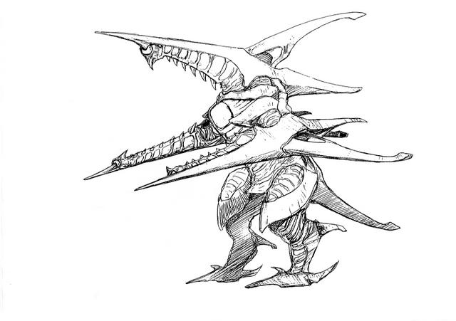 File:Concept Art - Godzilla 2000 Millennium - Orga 31.png