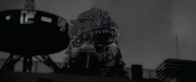 File:Godzilla vs. Megaguirus - Godzilla recreates Gojira 3.png
