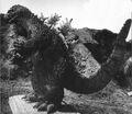 KKVG - Godzilla On A Wooden Board