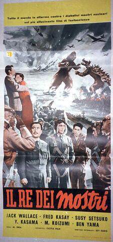 File:Godzilla Raids Again Italian Poster B.jpg