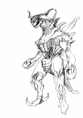 File:Concept Art - Godzilla 2000 Millennium - Orga 61.png