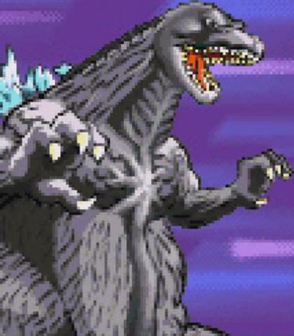 File:Gojira Kaiju Dairantou Advance - Battle Sprites - Godzilla.png