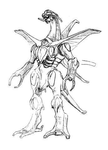 File:Concept Art - Godzilla 2000 Millennium - Orga 39.png