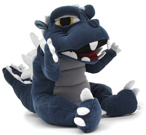 File:Toy Super Deformed Baby Godzilla ToyVault Plush.png