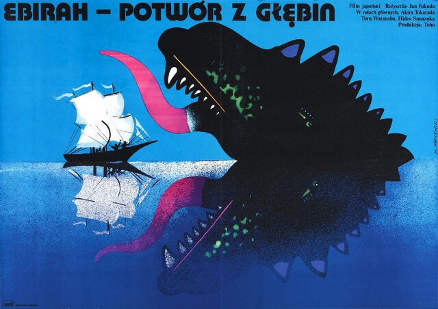 File:Ebirah, Horror of the Deep Poster Poland.jpg