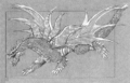 Concept Art - Rebirth of Mothra - Desghidorah 8