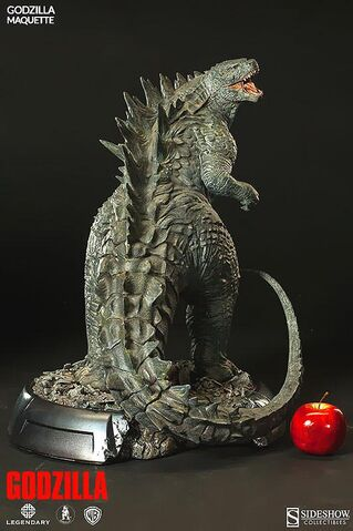 File:Sideshow Collectibles 24-inch Godzilla 2014 Maquette 2.jpg