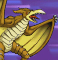 Gojira Kaiju Dairantou Advance - Battle Sprites - Rodan