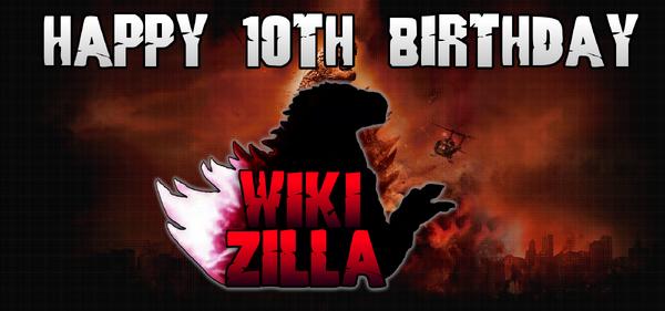 10th birthday Wikizilla