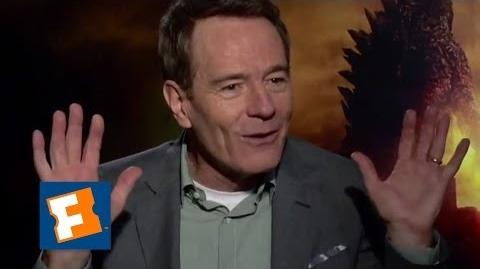 Exclusive Why Does Bryan Cranston Hate Godzilla?! Movieclips Comedy