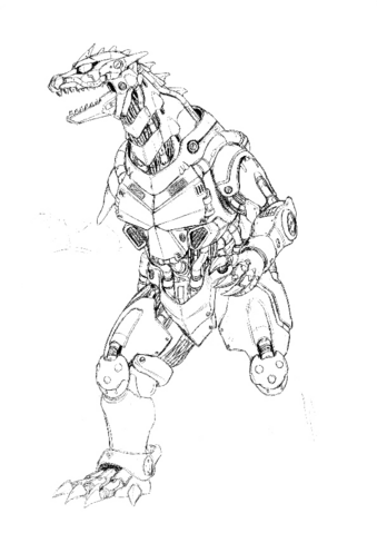 File:Concept Art - Godzilla Against MechaGodzilla - Kiryu 42.png