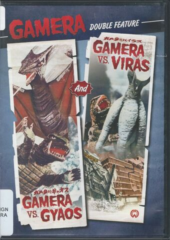 File:Gamera - Gamera vs. Gyaos and vs. Viras Shout! Factory Double Feature.jpg