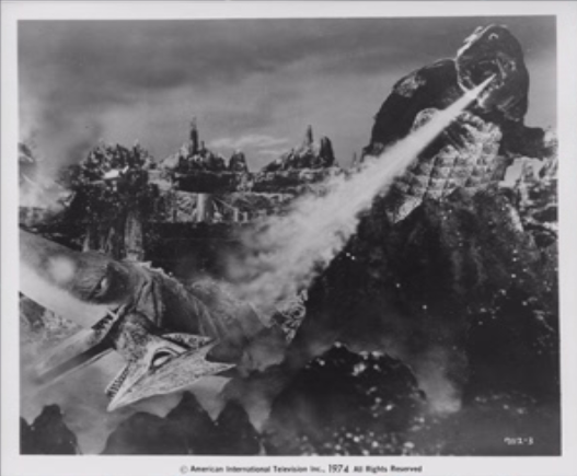 File:Gamera - 5 - vs Guiron - 99999 - 10 - Gamera fires breath.png