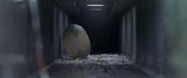 File:Godzilla vs. Megaguirus - Meganulon Egg gets thrown down sewer.png
