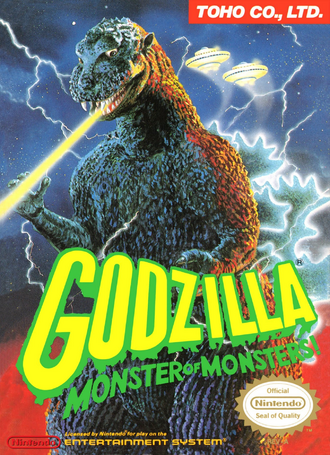 Godzilla Monster of Monsters NES