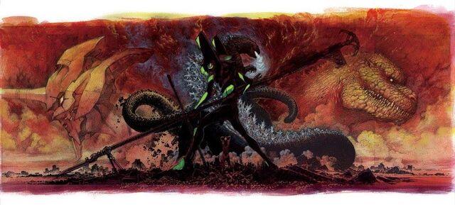 File:Godzilla and Evangelion.JPG
