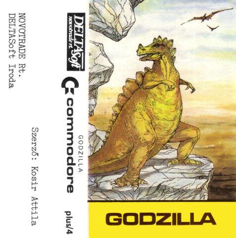 File:Godzilla Commodore 16 Cassette Cover.jpg