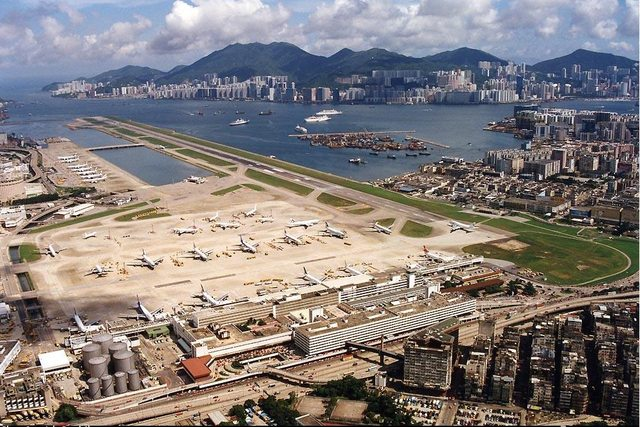 Kai Tak Airport | 9 of the most extreme airport runways | MNN ...