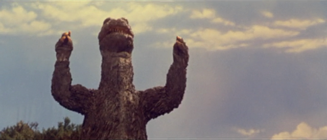 File:All Monsters Attack - Godzilla is storing energy!.png