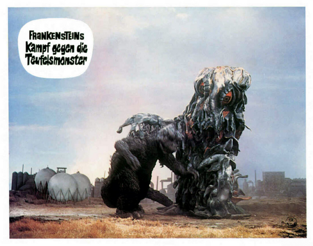 File:Godzilla vs. Hedorah Lobby Card Germany 10.png