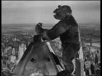 King Kong 1933-Kong on top of the Empire State