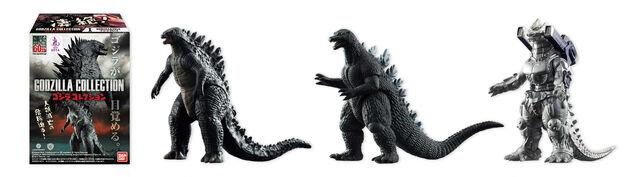 File:Godzilla 2014 Merchandise - Toys - Bandai Shokugan Godzilla Collection.jpg