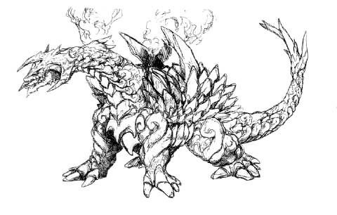 File:Concept Art - Rebirth of Mothra - Desghidorah 2.png