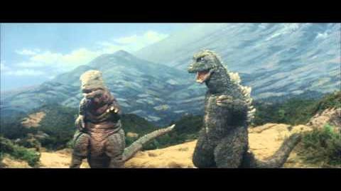 怪獣総進撃(1972年 改題・再上映版予告編)