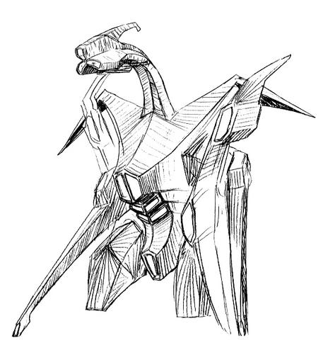 File:Concept Art - Godzilla 2000 Millennium - Orga 44.png